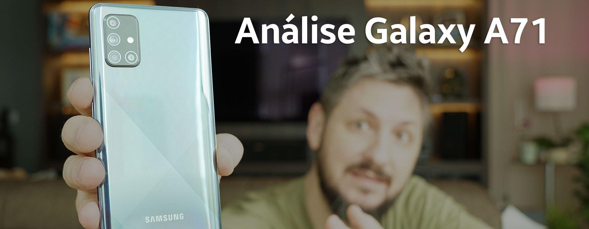 Análise do Samsung Galaxy A71: 6 meses depois, vale a pena?