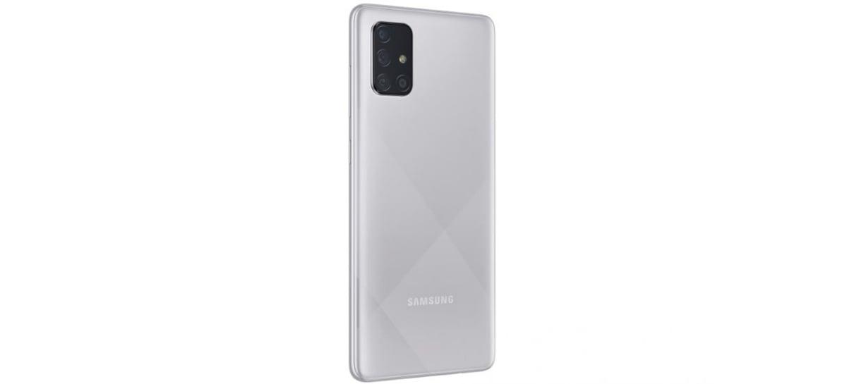 Samsung anuncia versão cinza do Galaxy A51 e Galaxy A71 no Brasil