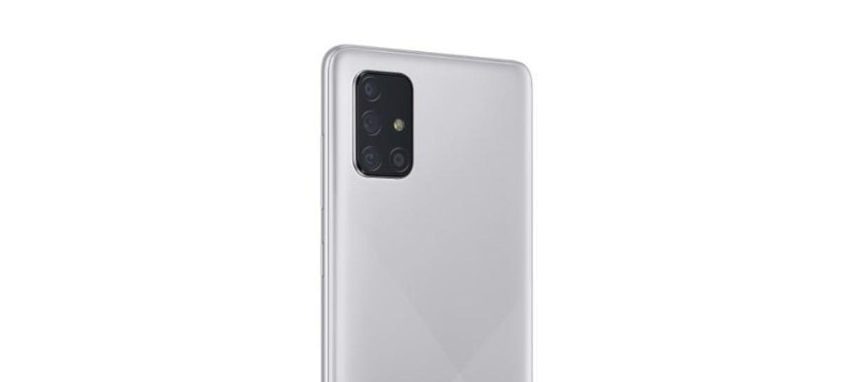 Samsung Galaxy A72 pode vir com quatro câmeras traseiras