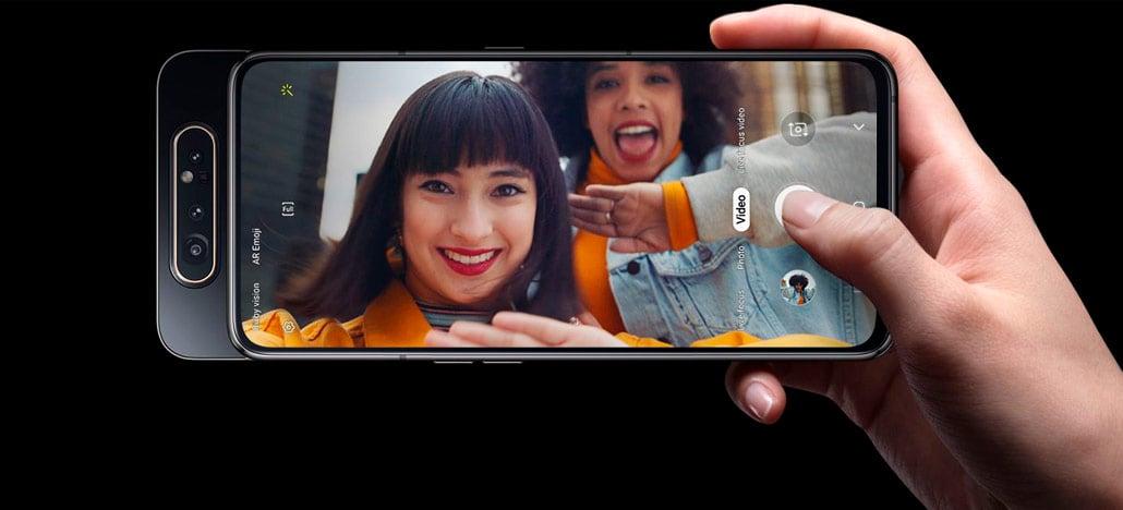 Samsung anuncia Galaxy A80 estreando Snapdragon 730 e sistema de câmeras inédito