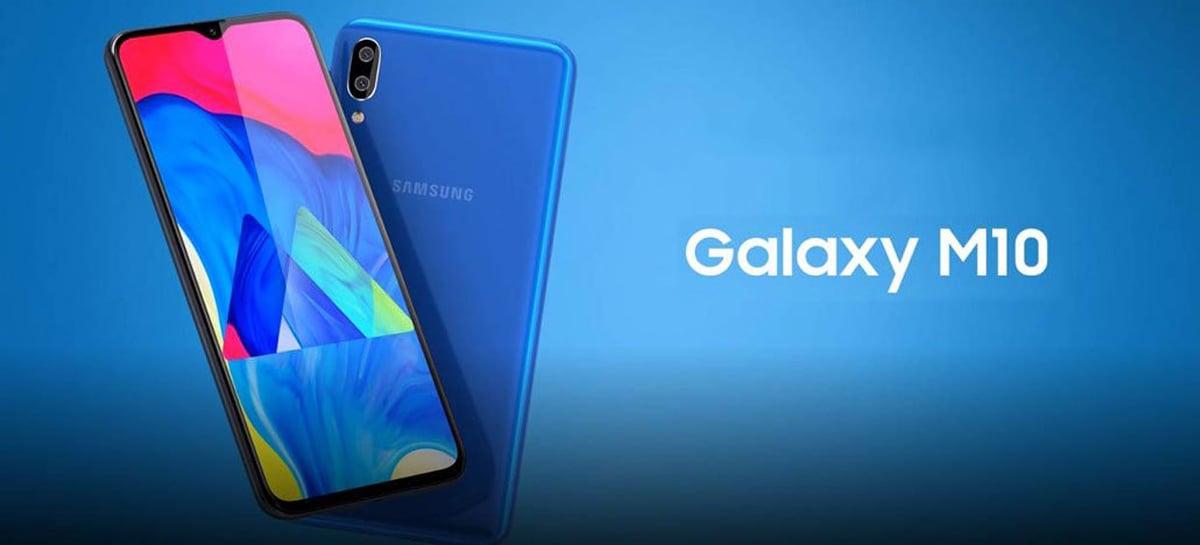 Samsung Galaxy M10 recebe atualização de segurança de julho