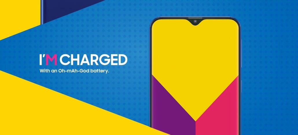 Samsung Galaxy M30 aparece em vazamento mostrando seu tamanho e design