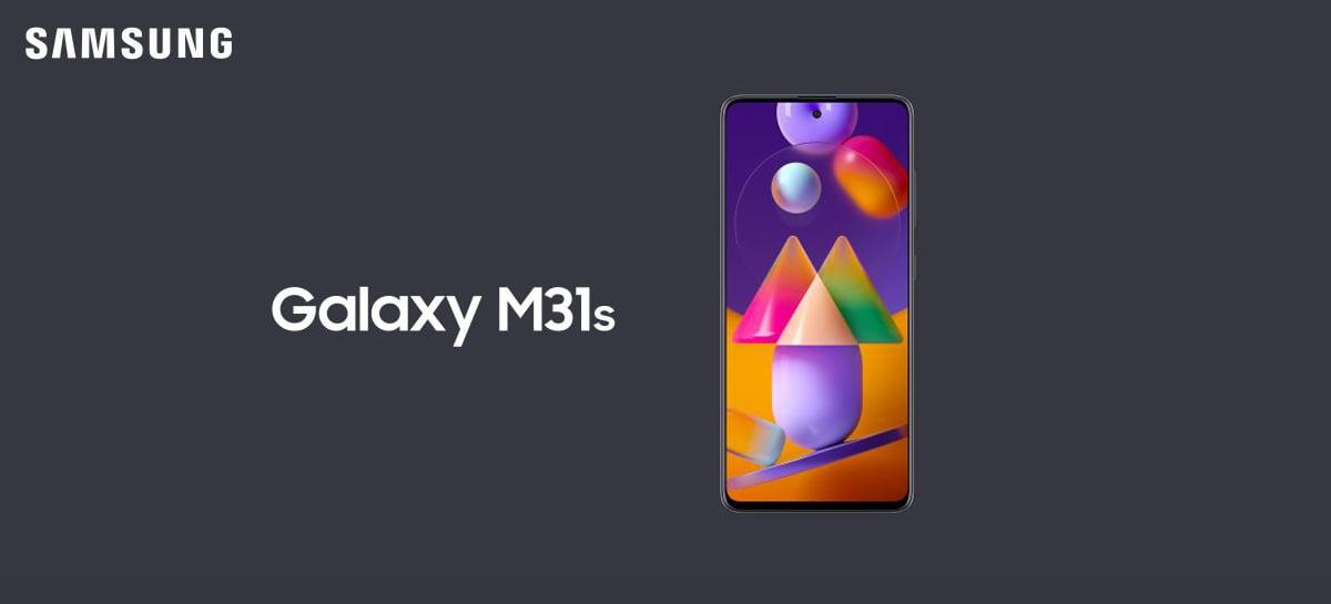 Samsung Galaxy M31s começa a receber a One UI 3.1 com Android 11