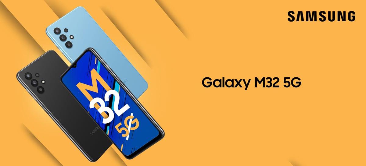 Samsung Galaxy M32 5G é lançado com câmera de 48MP e bateria de 5.000mAh