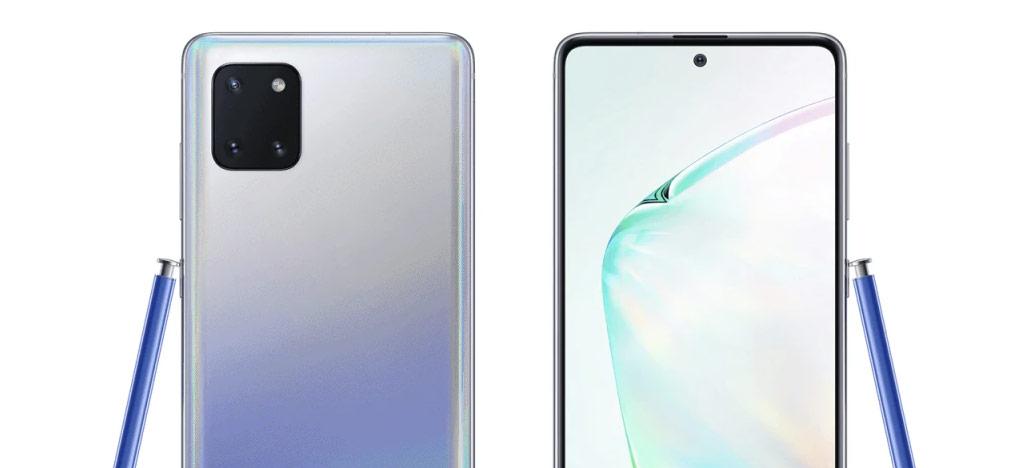 Suposto Galaxy Note 10 Lite aparece em vazamento de imagens