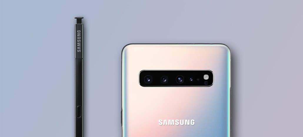 Tamanhos diferentes? Números de modelo do Galaxy Note 10 revelam duas variantes distintas