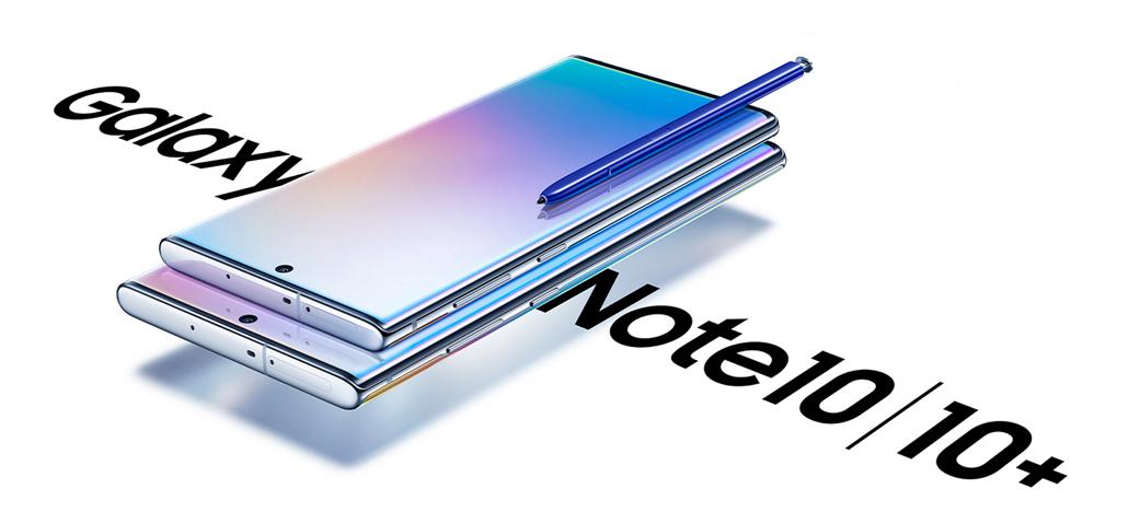 Linha Galaxy Note 10 é lançada a partir de US$949, Note10+ traz 4 câmeras