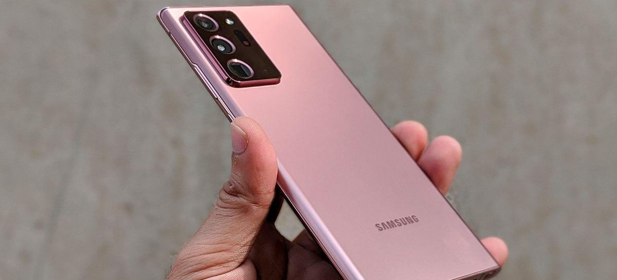 Galaxy Note 20 passa 1 milhão de pré-vendas, mas não deve superar antecessor