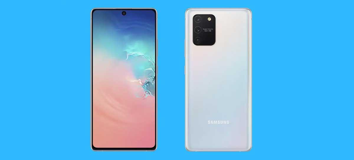 Galaxy S10 Lite: hands-on com o