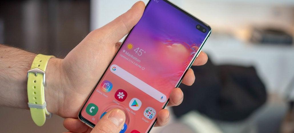 Samsung Galaxy S10 e S10+ ganham atualização que melhora sensor de digitais