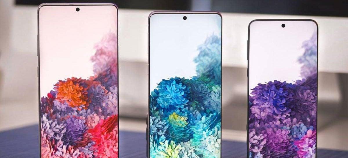 Samsung lançará Galaxy S20  e S20+ sem internet 5G na América Latina [Rumor]