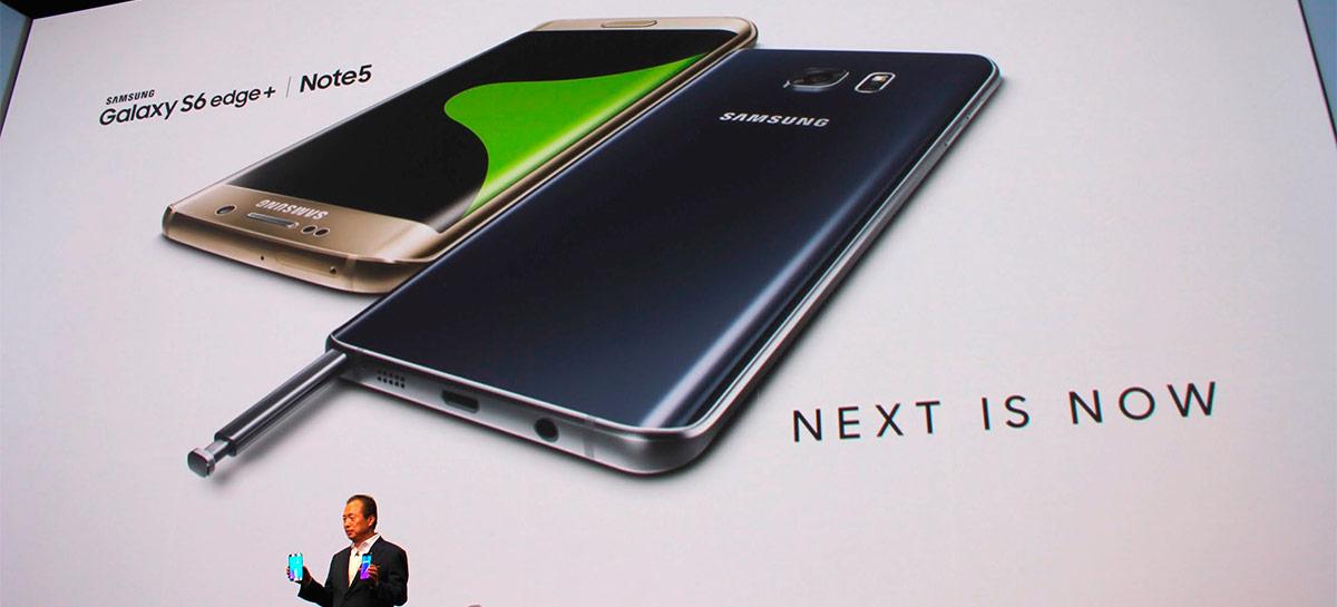 Galaxy S6 e Galaxy Note 5 recebem novo update de firmware, depois de 5 anos lançados
