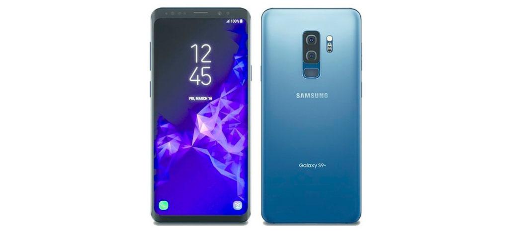 Galaxy S9+ aparece novamente em imagens vazadas, desta vez na cor azul