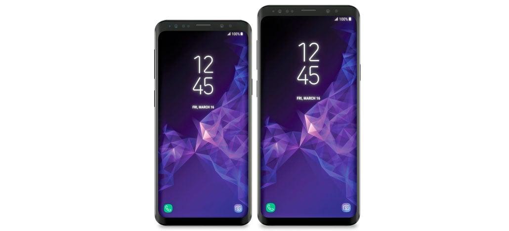 Supostas imagens do Galaxy S9 e S9+ aparecem na internet