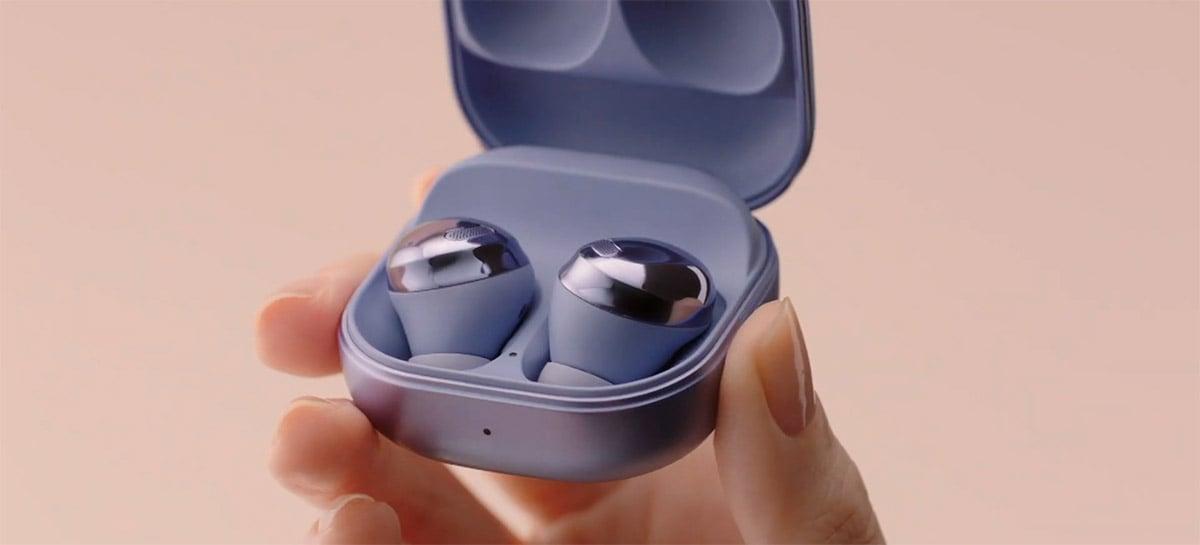 Samsung apresenta Galaxy Buds Pro, fone sem fio com cancelamento de ruído de 99%