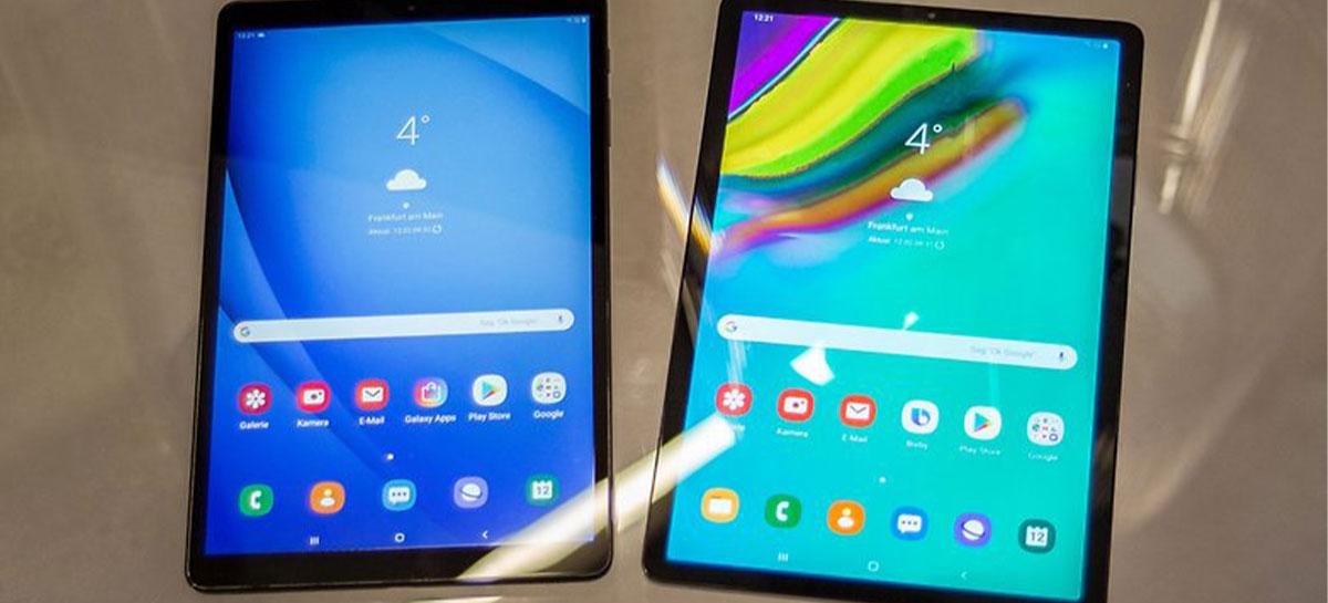 Android 11 chega ao Galaxy Tab A 10.1 2019