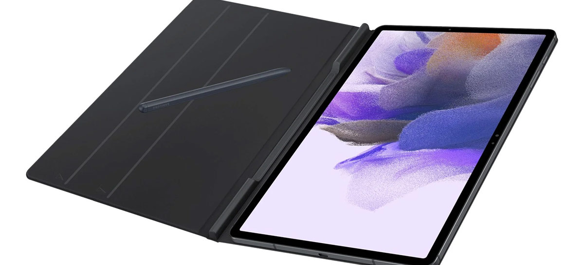 Registro mostra que Galaxy Tab S7+ Lite suporta 44,5W, mas vem com carregador de 15W