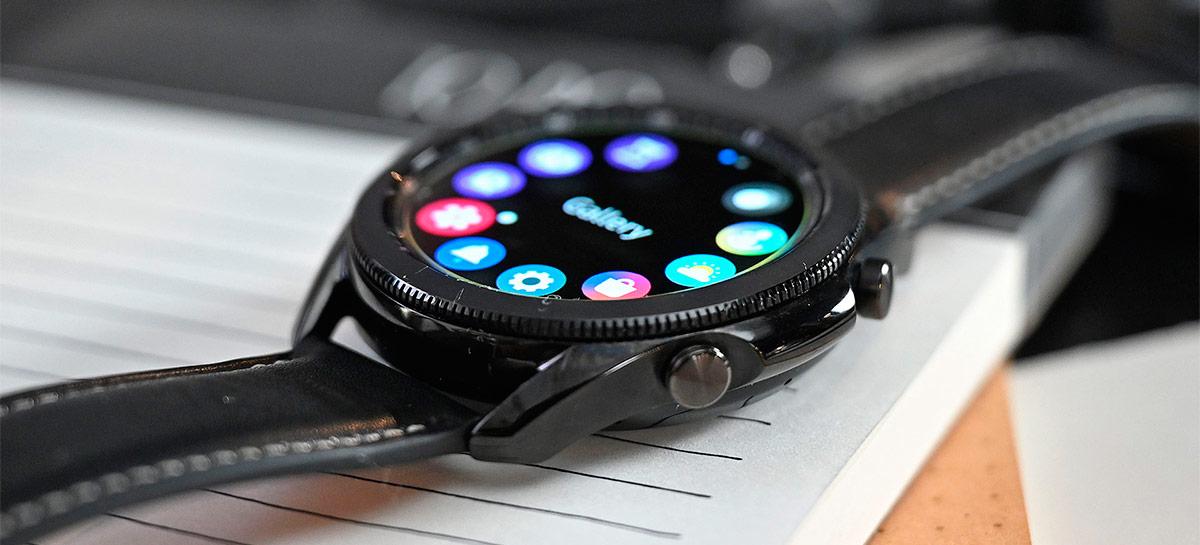 Galaxy Watch 4 pode vir com sensor de glicose que não precisa espetar o usuário