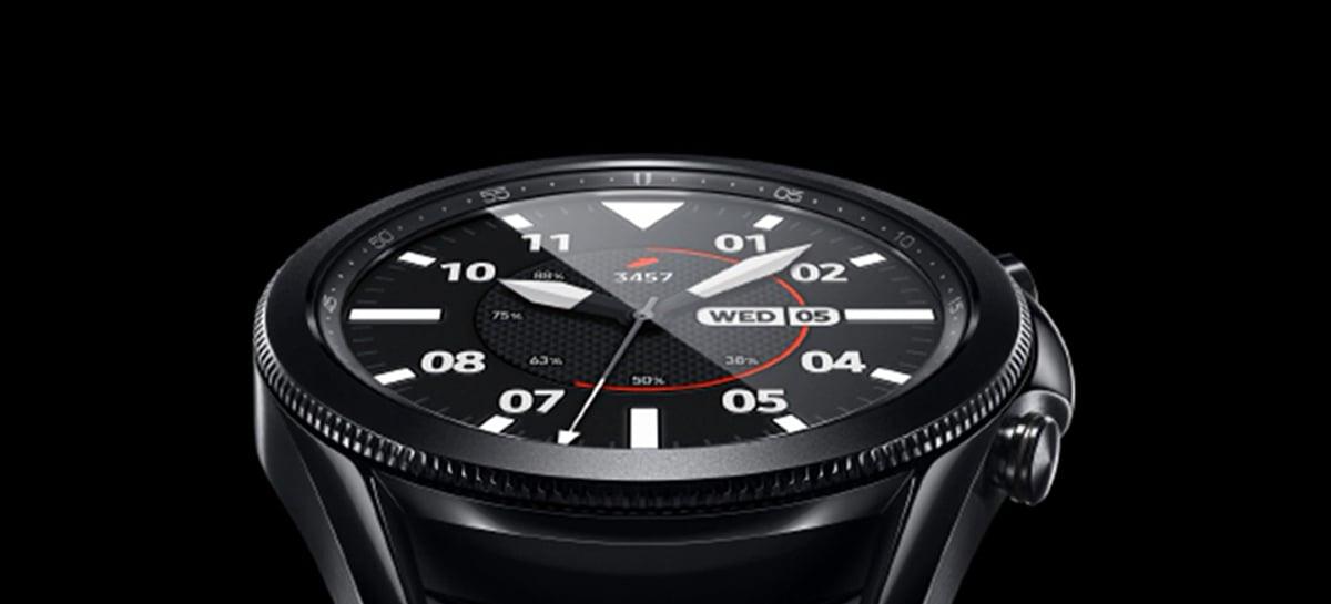 Smartwatch Samsung Galaxy Watch4 deve ser lançado no dia 11 de agosto