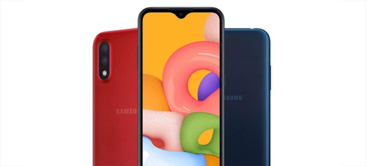Samsung Galaxy A01 chega oficialmente no Brasil; veja preços