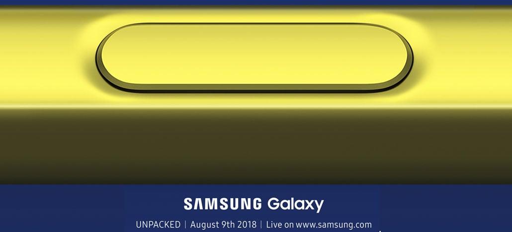 Samsung confirma data de lançamento do Galaxy Note 9 com novo teaser