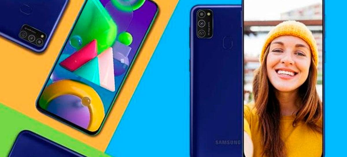 Samsung Galaxy M21 começa a receber update para Android 11 com One UI 3.0