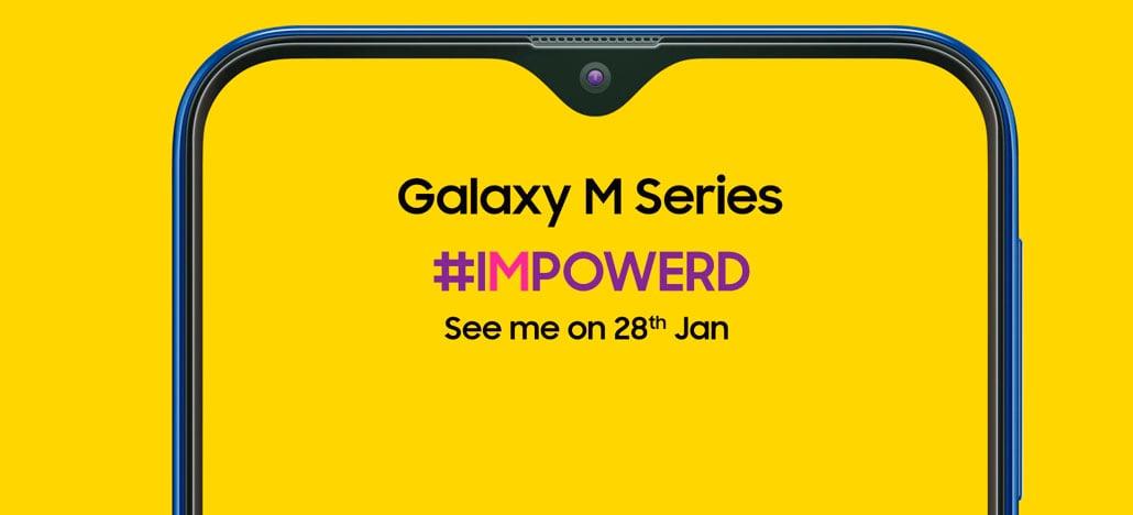 Samsung apresenta o design do Galaxy M, primeiro smartphone da empresa com entalhe