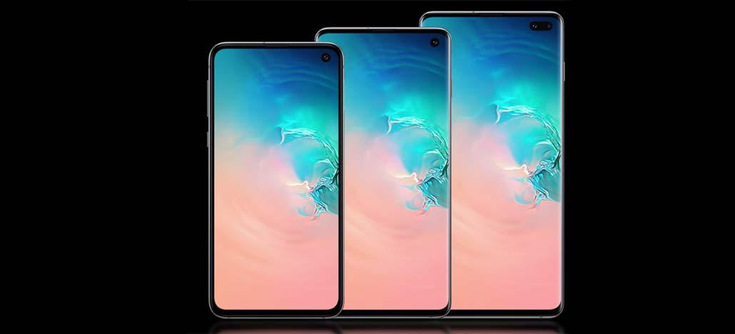 Atualização de software para linha Samsung Galaxy S10 chega ao mercado global