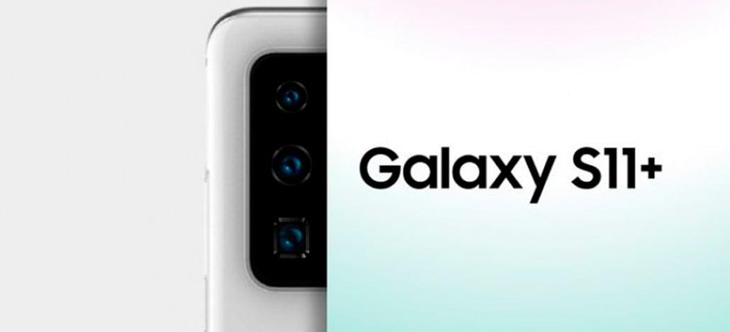 Galaxy S11 + pode ter fotos mais nítidas, usando 108MP combinados [RUMOR]