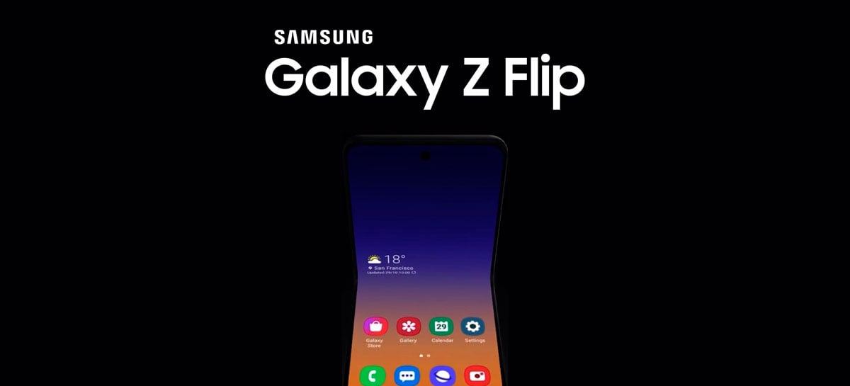 Samsung Galaxy Z Flip será o nome oficial da nova versão do Galaxy Fold [Rumor]