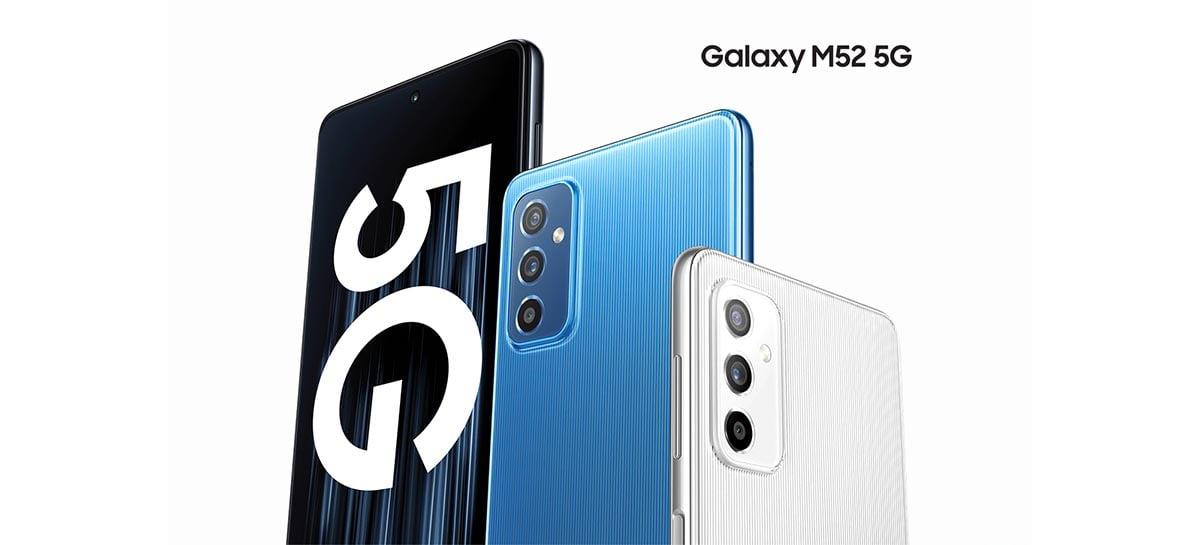 Samsung lista o Galaxy M52 5G no seu site oficial na Polônia