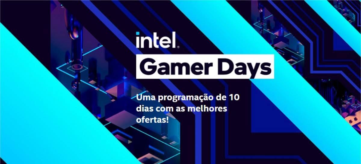 Intel Gamer Days promove um FESTIVAL DE OFERTAS entre 27 de agosto e 5 de setembro