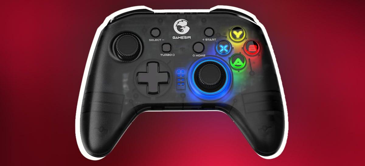 GameSir T4 Pro é TOP de vendas no AliExpress e está em PROMOÇÃO por R$158