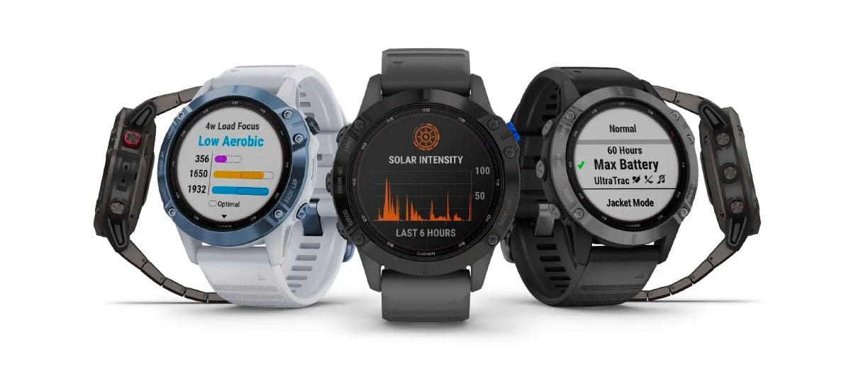 Garmin lança novas versões de seus relógios conectados com carregamento solar