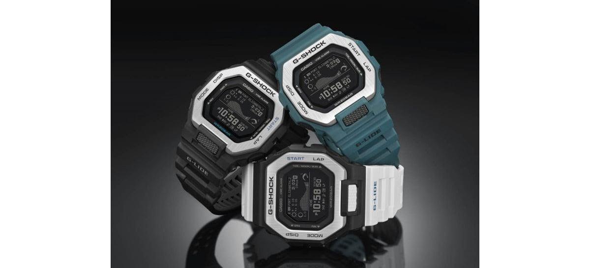 G-Shock lança nova linha de relógios voltado para surfistas