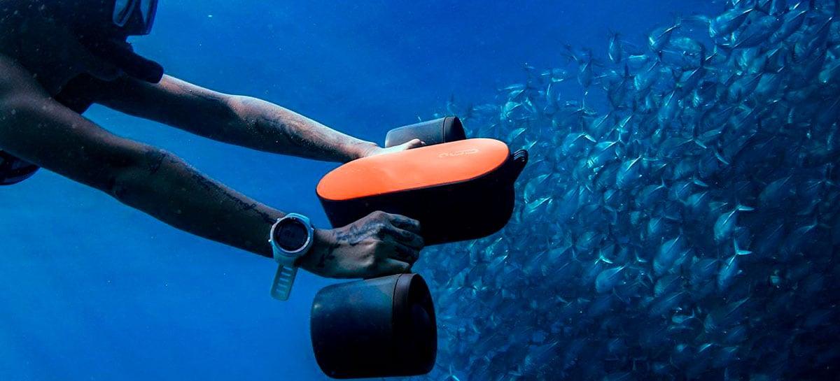 Geneinno S2: conheça o propulsor submarino compacto para mergulhos