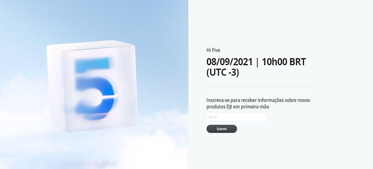 Novo gimbal DJI OM5 deve ser lançado dia 8 de setembro