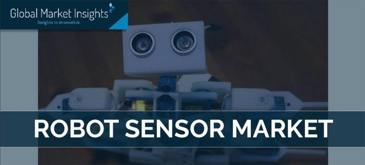Mercado de sensores para robôs deve ultrapassar US$ 4 bilhões em 2026