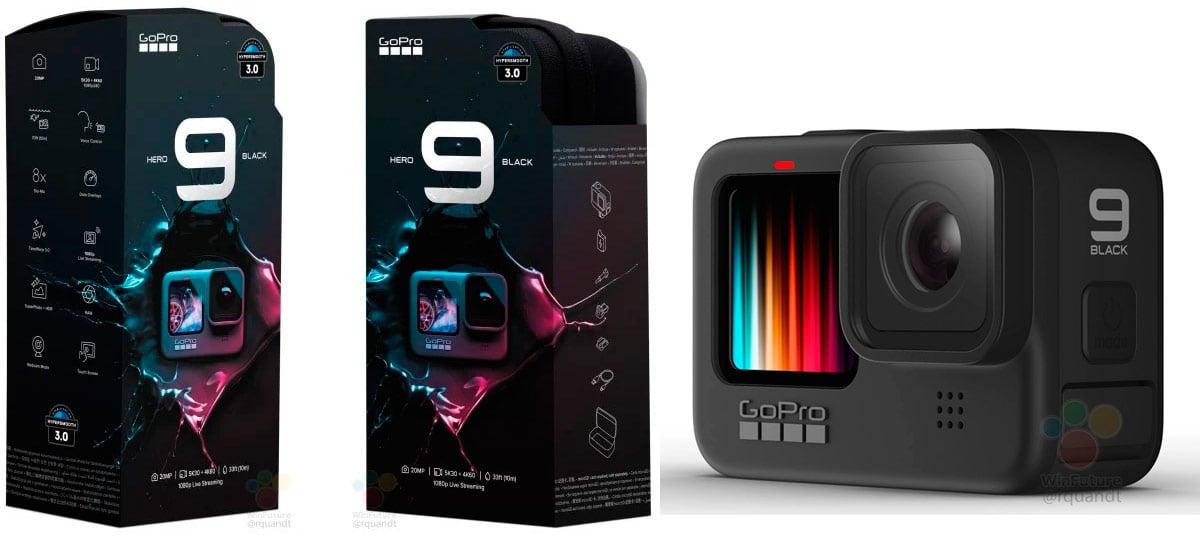 GoPro Hero 9 aparece em vazamento com vídeo até 5K a 30fps, mais bateria e tela colorida