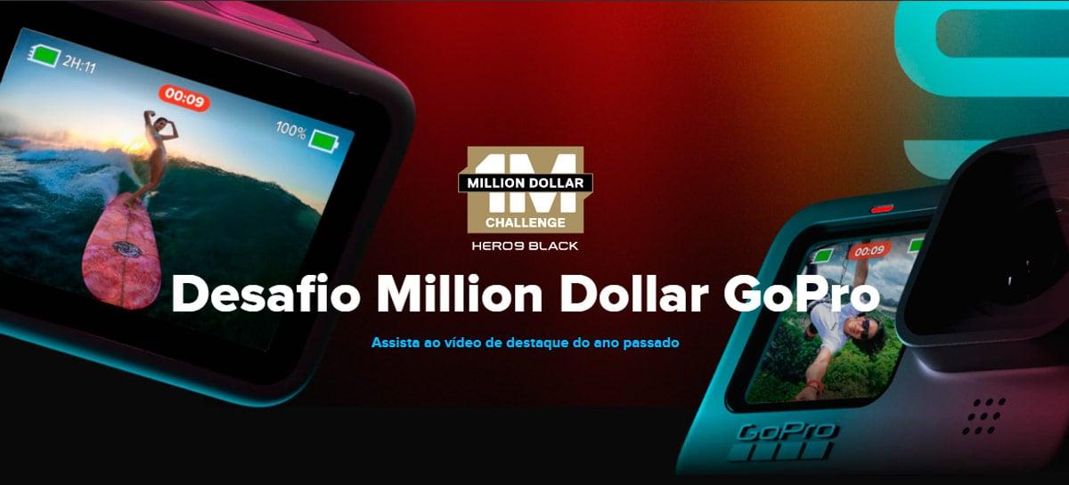 Million Dollar Challenge da GoPro vai distribuir US$ 1 milhão para vídeos da Hero9 Black