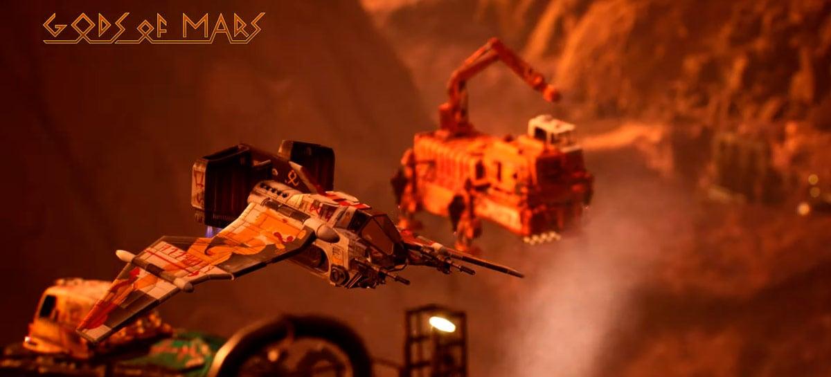 Filme Gods of Mars usa Unreal Engine e Nvidia RTX para ray tracing em tempo real