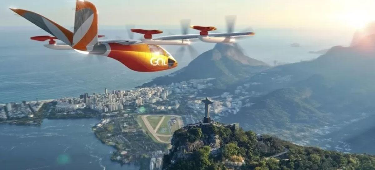 """Companhia aérea Gol compra 250 """"carros voadores"""" para futura frota de táxi aéreo"""