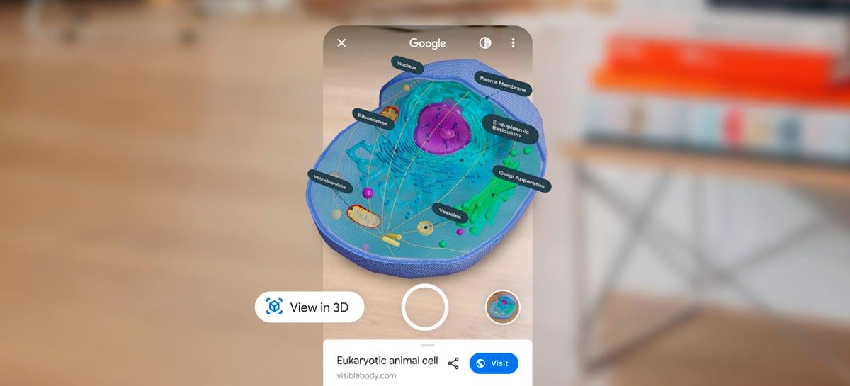 Buscas em realidade aumentada do Google vão trazer muito mais animais e estruturas