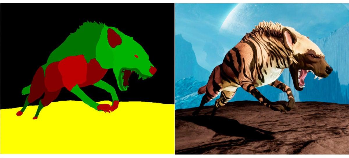 Chimera Painter, da Google, transforma desenhos no estilo Paint em monstros em 3D