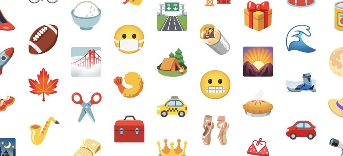 Google deve trazer cerca de 1.000 novos emojis com o Android 12