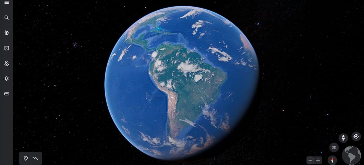 Modo Escuro nativo finalmente chegou ao Google Earth