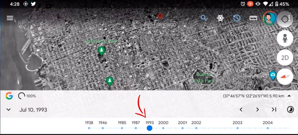 Google Earth disponiliza linha do tempo de cidades com fotos de satélite