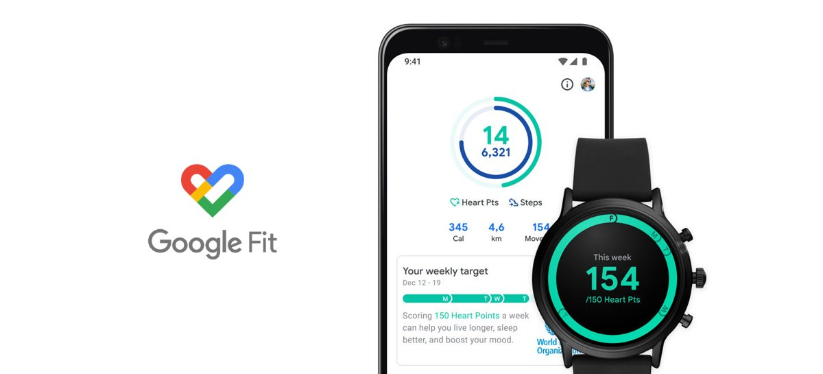 Novo design do Google Fit foca na contagem de passos