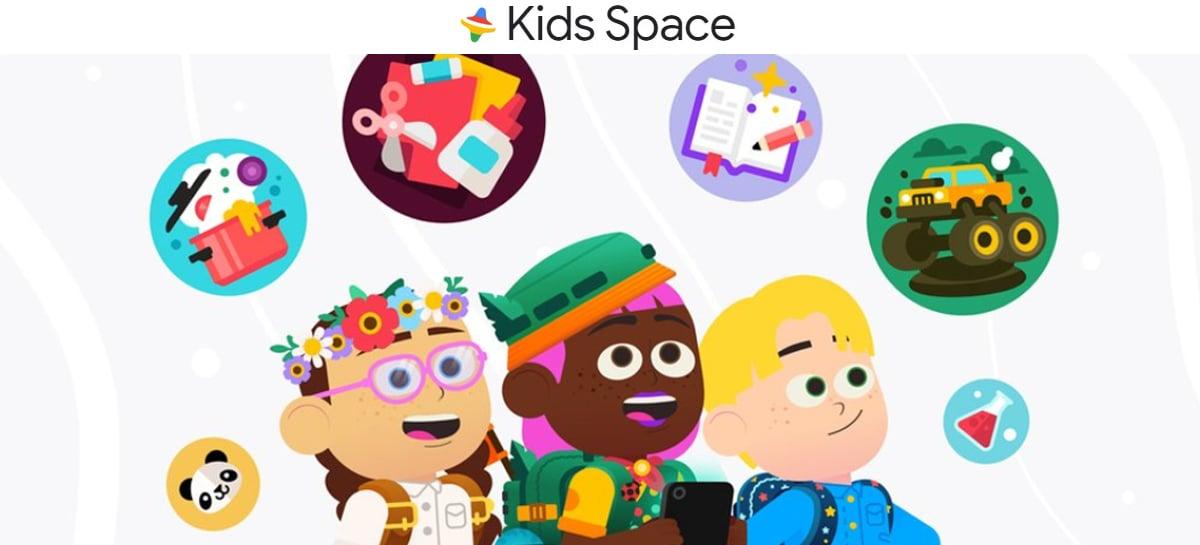 Google anuncia o Kids Space, um modo para tablets com Android voltado para crianças