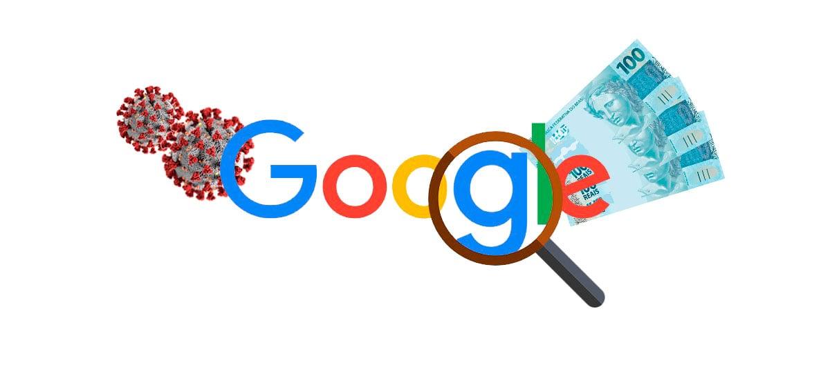 """""""Coronavírus"""" e """"auxílio emergencial"""" foram os termos mais procurados pelos brasileiros no Google em 2020"""